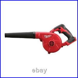 Milwaukee 0884-20 M18 18V Compact Blower with Extension Nozzle Bare Tool