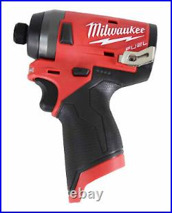 Milwaukee 2553-20 12-Volt M12 FUEL 1/4 Hex Impact Driver (Tool Only)