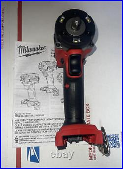 Milwaukee 2854-20 M18 FUEL 3/8 Compact Impact Wrench with Friction Ring Tool onky