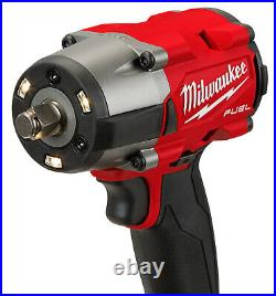 Milwaukee 2962-20 M18 FUEL 1/2 Mid-Torque Impact Wrench TOOL ONLY