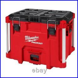 Milwaukee 48-22-8429 PACKOUT XL Heavy Duty Tool Box with Organizer Tray