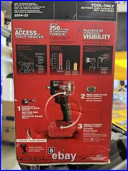 Milwaukee M18 FUEL 3/8 Compact Impact Wrench 2854-20 Brand New Tool Only