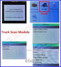 NEXAS NL102P Heavy Duty Truck Scanner DPF Regen Diesel Code Reader Diagnostic