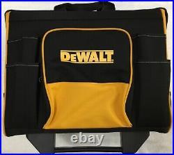New Dewalt N712934 18 Heavy Duty Rolling Tool bag 18 x 12 x 16 With Handle