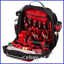New Milwaukee 48-22-8201 Ultimate 48 Pocket Heavy Duty Jobsite Backpack Tool Bag