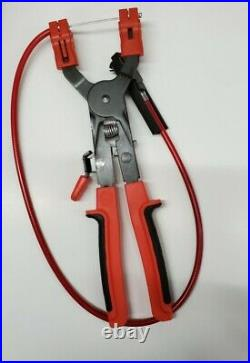 New Snap On Tools SHCP1B Ratcheting Hose Clamp Pliers Space Saver Heavy Duty
