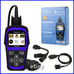 Nexas Nl102p Heavy Duty Hd Truck Diagnostic Scanner Tool Car Code Reader Dpf
