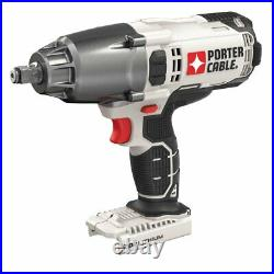 Porter-Cable PCC740B 20-Volt 1/2-Inch Cordless LED Impact Wrench Bare Tool