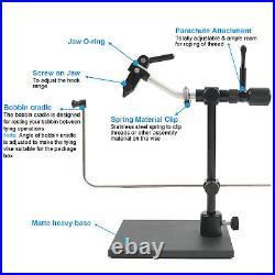 Rotary Fly Tying Vises Alloy Fly Tying Vice Fly Tying Tools with Heavy Duty Base