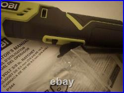 Ryobi 18V P344 4-Position 3/8 Ratchet 18-Volt ONE+ Cordless 3/8 in (Tool Only)