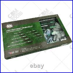 SK Hand Tools 86007 9pc CushionGrip Combination Screwdriver Set
