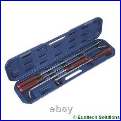 Sealey AK9100 Prybar Set 4 Piece Heavy Duty Workshop Equipment Garage Hand Tool
