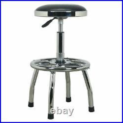 Sealey SCR17 Workshop Stool Heavy-Duty Pneumatic Adjustable Height Swivel Seat