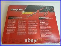 Snap On Tools 6pc Soft Grip Screwdriver Set With Ratcheting Screwdriver SGDX60RATR