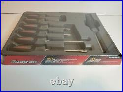 Snap On Tools 6pc Soft Screwdriver Set With Ratcheting Screwdriver SGDX60RATDT