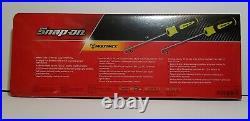Snap On Tools NEW 4 Pc Soft Grip Pick Set & Tray SGLASH1204BH (High Vis Yellow)