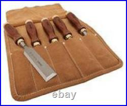 Stanley 16-401 Woodworking Tool Chisel Set, Arts Craft Set (5-Piece)