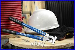 TEMCo HEAVY DUTY 12 4/0 ga WIRE & CABLE CUTTER Electrical Tool 120mm2 NEW