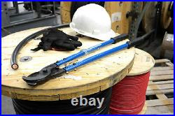 TEMCo HEAVY DUTY 18 500 mcm WIRE & CABLE CUTTER Electrical Tool 240mm2 NEW