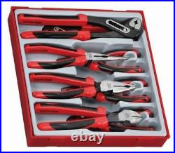 Teng Tools TPR Pliers Grip & Cutter Tool Set In Tool Holder