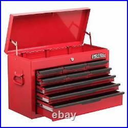 Tool Chest 9 Drawer Roll Cab Top Box Cabinet Heavy Duty Storage Unit