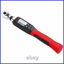 Torque Wrench Digital Electronic 3/8 Drive Ratchet Mechanic Measurement Tool New