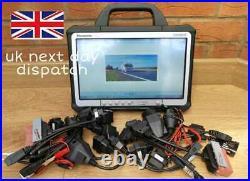 Truck/car Diagnostic Laptop Scannia/daf/iveco/merc/volvo Tool Heavy Duty