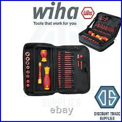 WIHA 43465 31 Piece Tool Set SlimVario SlimBits Screwdriver Interchangeable