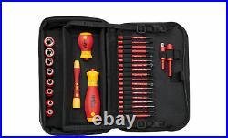 Wiha 43465 31 Piece slimVario VDE Interchangeable Screwdriver Socket Tool Set