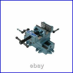 Wilton Tools WIL-11693 3 Inch Jaw Width Cross Slide Drill Press Vise, Blue