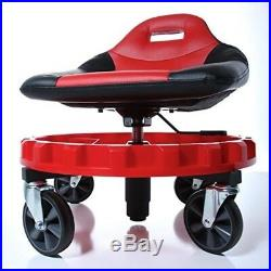 Work Stool Chair Rolling Creeper Seat Tools Tray Heavy Duty Mechanics Auto Shop