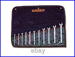 Wright Tool WRIGHTGRIP 2.0 12 Point Combination Wrench Set 11 Piece Metric 950