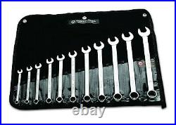 Wright Tool WRIGHTGRIP 2.0 12 Point Combination Wrench Set 11 Piece SAE 711